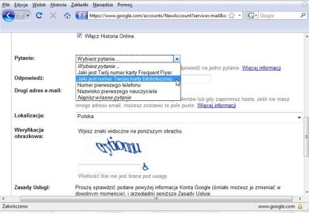 gmail_rejestracja